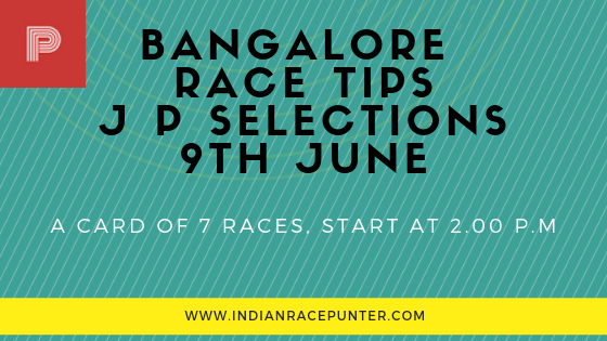 Bangalore Race Tips 9th June