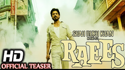 Watch Download Raees 2016 Full Movie Dvdscr