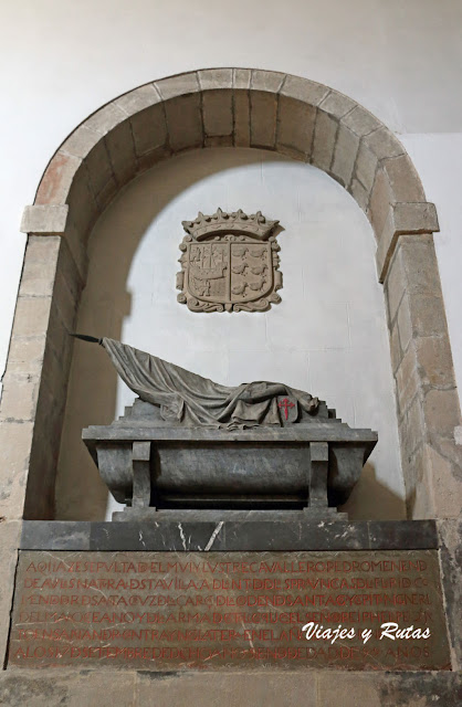 Tumba de Pedro Menéndez de Avilés
