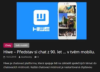 http://azanoviny.wz.cz/2019/09/10/hiwe-predstav-si-chat-z-90-let-v-tvem-mobilu/