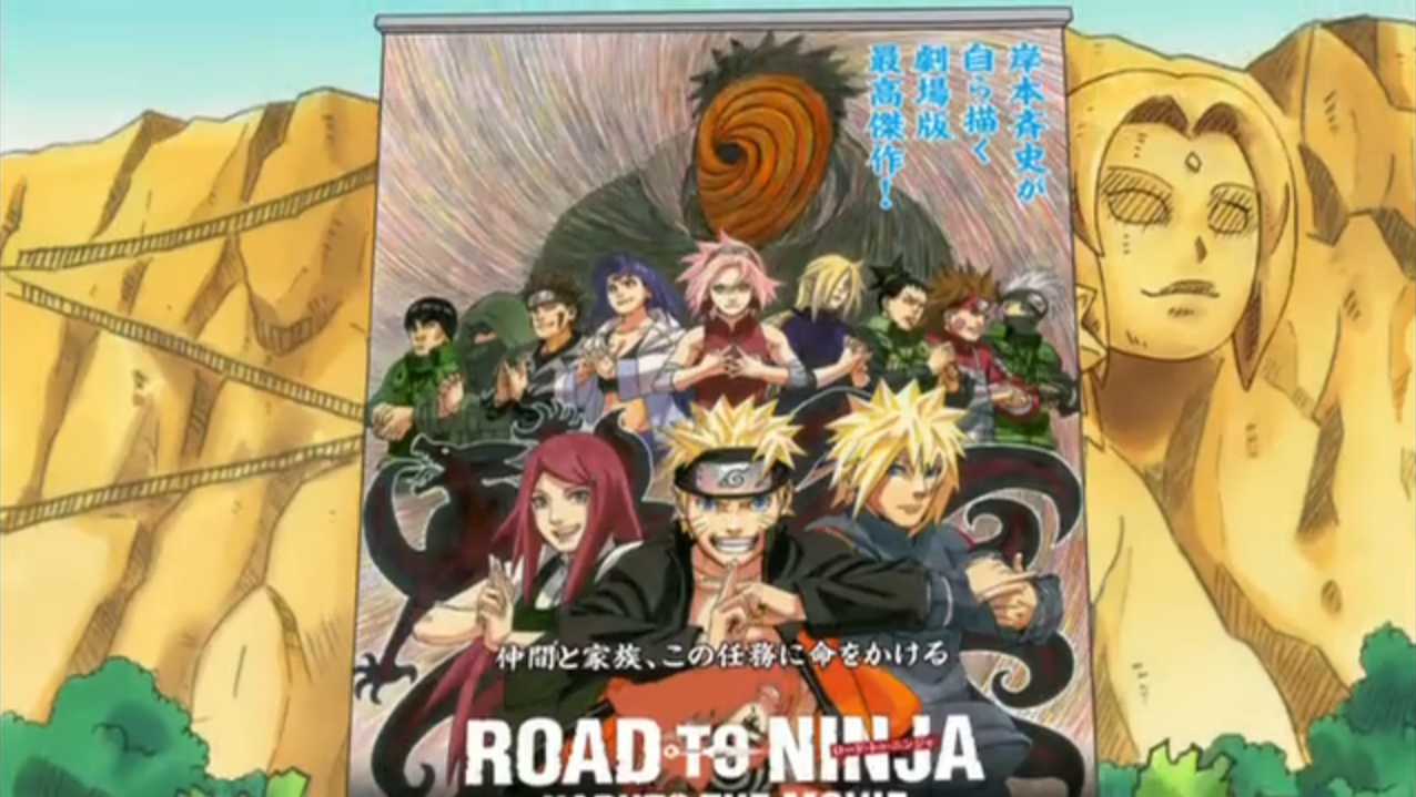 Rock Lee & Ninja Pals bought Advance-Sale Tickets to Naruto Movie