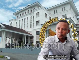 Wakil Ketua Komisi A DPRD Maluku Constansius Kolatfeka mendesak PT. Multi Utama Konstruksi membayar ganti rugi kepada keluarga Tasijawa - Batuwael atas penyerobotan lahan untuk menggali pasir dan batu.