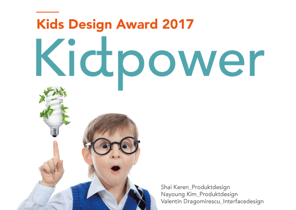 Nominated for Kids Design Award 2017