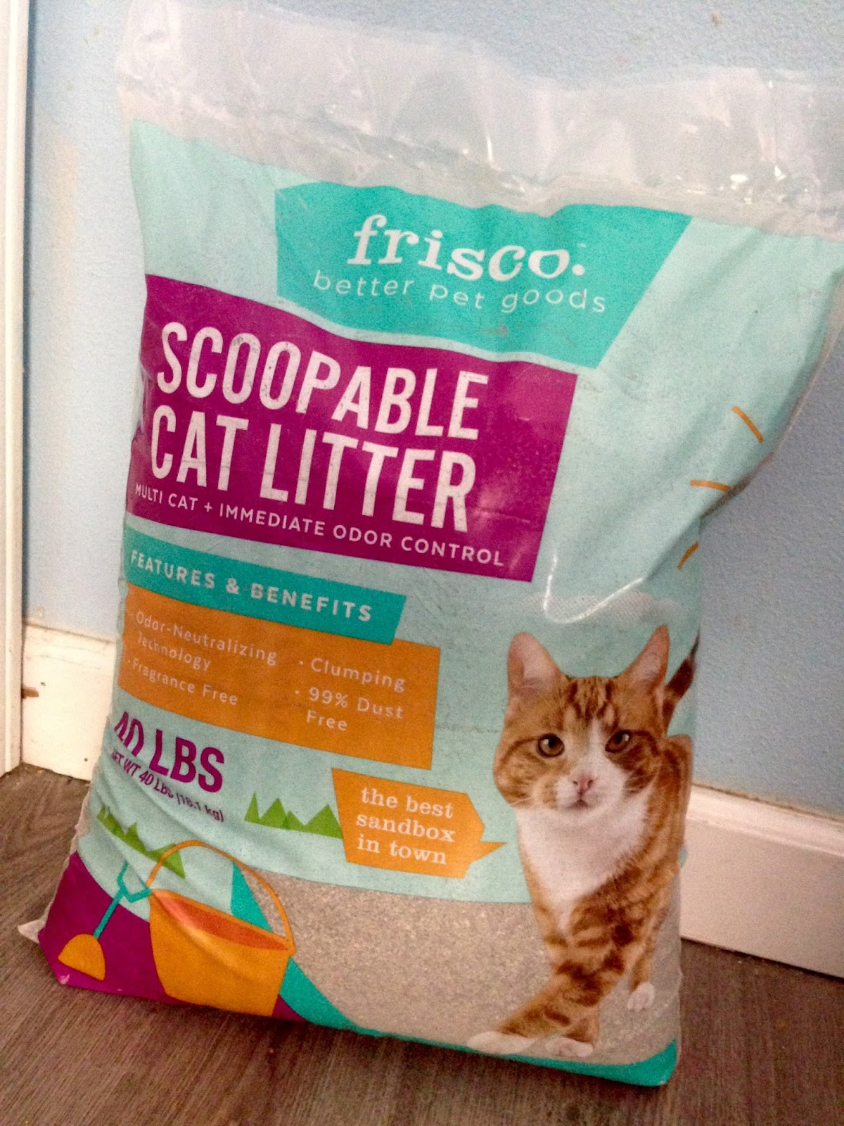 Dust Free Cat Litter Clumping