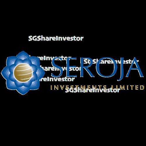 SEROJA INVESTMENTS LIMITED (SGX:IW5) @ SGinvestors.io