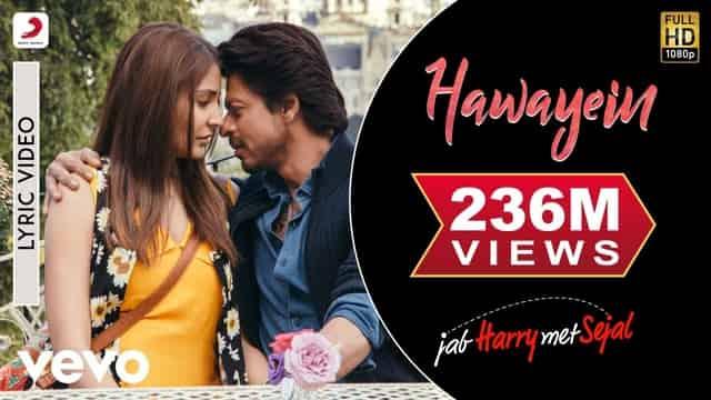 हवाएं Hawayein Lyrics In Hindi - Jab Harry Met Sejal