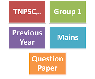Tnpsc group iv model question paper with answer