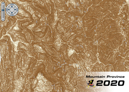 2020 Benguet Elevation Map Accuracy