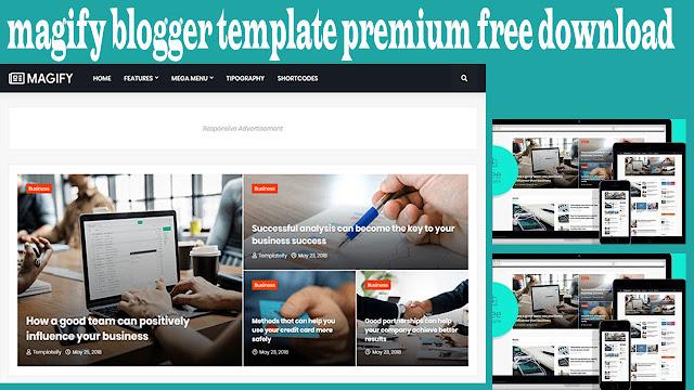 magify blogger template premium free download.