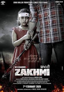 Zakhmi 2020 Punjabi 720p WEBRip