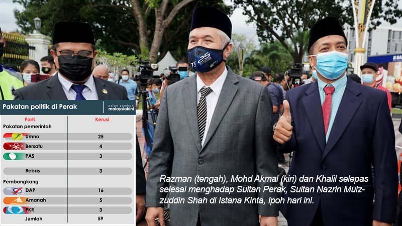 PPBM, Pas akur Saarani MB Perak baharu