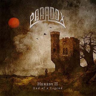 """Ο δίσκος των Paradox """"Heresy II - End Of A Legend"""""""