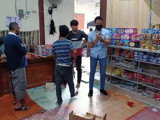 Petasan Tanpa Izin Edar Disita dari Toko Mainan di Mataram