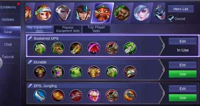 How to Setting Gear Mobile Legends Tips For All Types of Heroes!