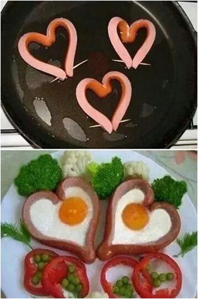 Sevgiliye Kahvaltı Hazırlama