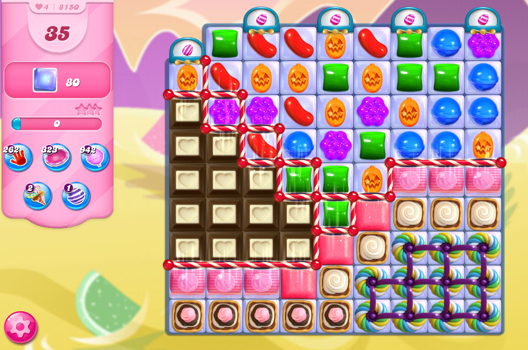 Candy Crush Saga level 8150