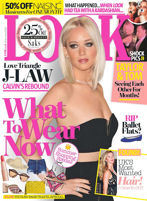 Actress, @ Jennifer Lawrence - Look Magazine UK June 2016