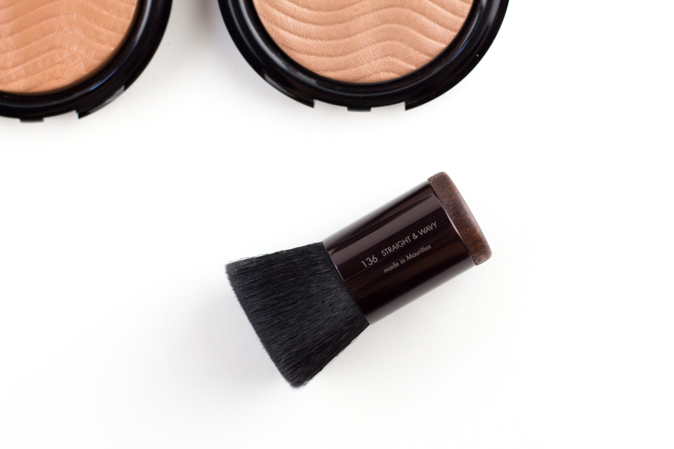 make up for ever mufe pro bronze fusion 136 kabuki brush review