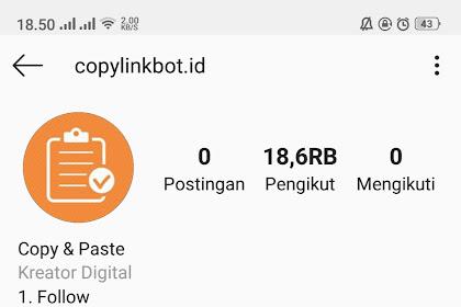 Cara Mudah Copy atau Menyalin Komentar di Instagram Hp Android Tanpa Root