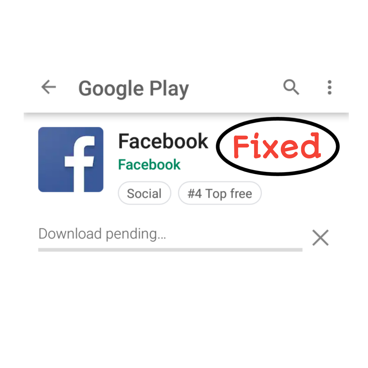 Download Pending Problem In Playstore Solved
