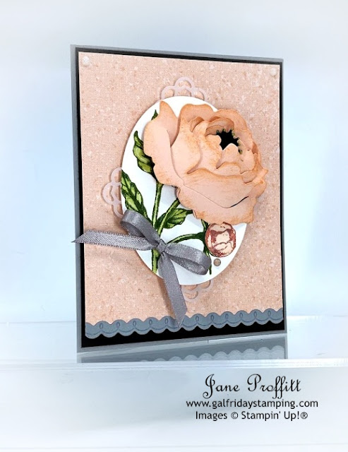 Stampin' Up! Peony Garden Collection at Gal Friday Stamping.