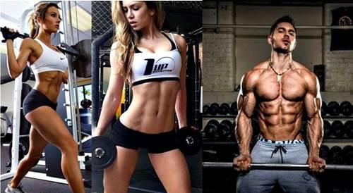 Las personas con mejor condición física queman más grasa durante las pesas