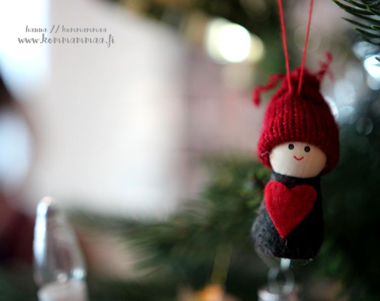 joulu jouluaatto joulukuu 2017 kuusi koriste