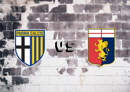 Parma vs Genoa  Resumen