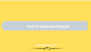 First in Himachal Pradesh