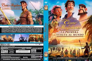 ELCANO Y MAGALLANES LA PRIMERA VUELTA AL MUNDO – 2019 [COVER – DVD]