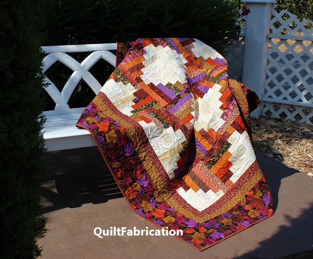 Leaf Piles by QuiltFabrication