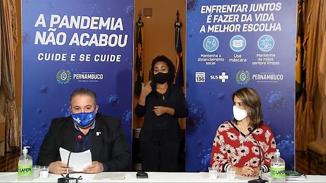 Governo de Pernambuco prorroga restrições até 13 de junho, e anuncia medidas mais rígidas no Sertão