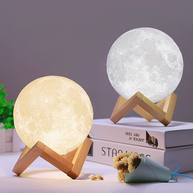 Lampu Hiasan 3D Led Moon Light Lamp