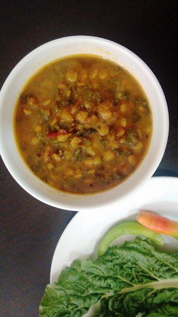 Sindhi Sai Bhaji foodiezflavor.com