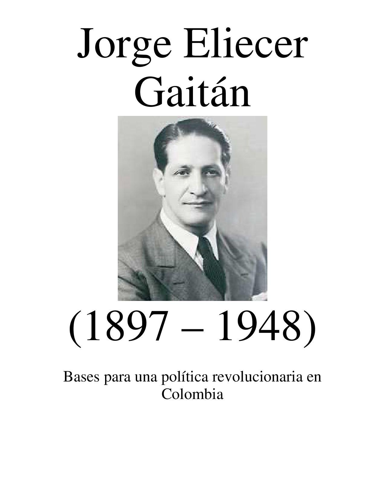 hoyennoticia.com, MANIFESTACIÓN DEL SILENCIO, JORGE ELIECER GAITÁN