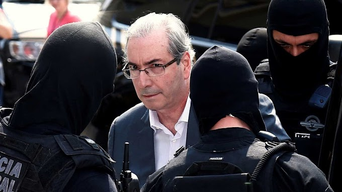 Justiça autoriza transferência de Eduardo Cunha para o Rio