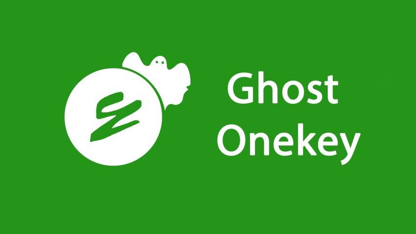 Hướng dẫn cách tạo và bung file Ghost bằng công cụ Onekey Ghost
