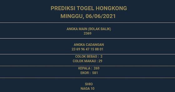 3 - PREDIKSI HONGKONG 06 JUNI 2021