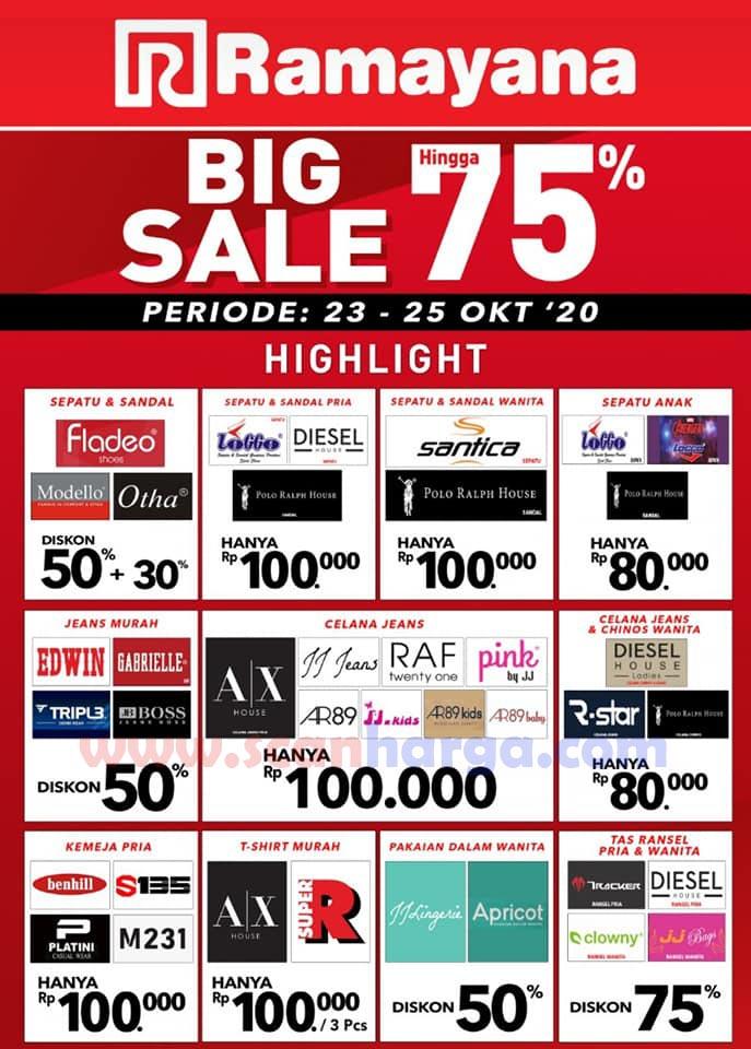 Katalog Promo Ramayana 23 - 25 Oktober 2020