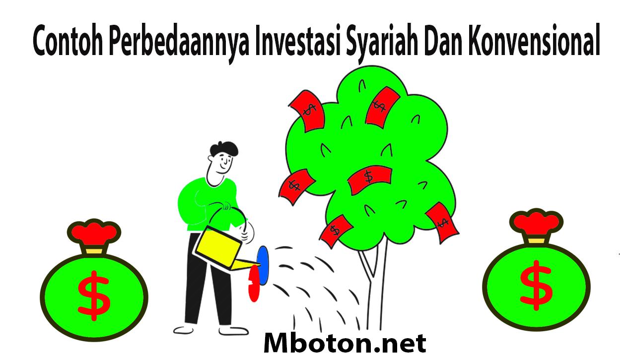 Contoh investasi konvensional dan investasi syariah