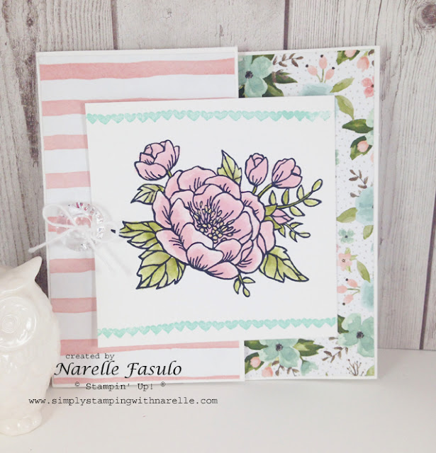 Birthday Blooms - Birthday Bouquet Designer Series Paper - Mothers Day - Simply Stamping with Narelle - order here - http://www3.stampinup.com/ECWeb/default.aspx?dbwsdemoid=4008228