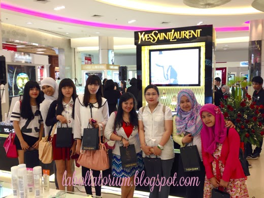 Beauty Event - Romancing with YSL (Yves Saint Laurent) beauty bloggers squad