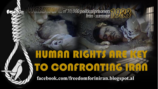 HUMAN RIGHTS ARE KEY TO CONFRONTING IRAN