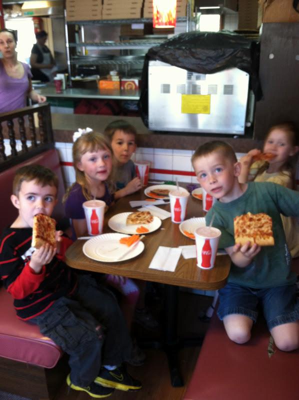 Mrs Parzych S Kindergarten Pizza Party Field Trip