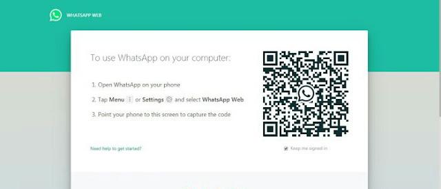 Login WhatsApp Web dengan Nomor HP