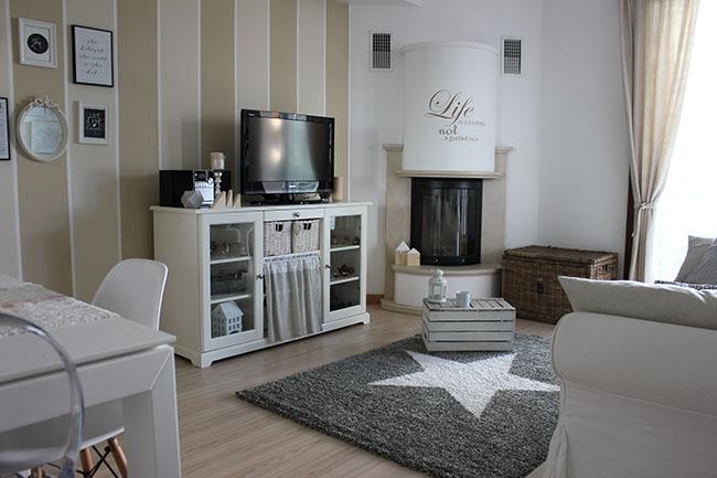Un nuovo tappeto per il mio soggiorno home shabby home for Arredare con gusto il soggiorno