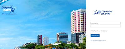 Iniciar sesión con su usuario (Cédula o RUC) y la contraseña que tiene registrada en el portal del Municipio de Guayaquil
