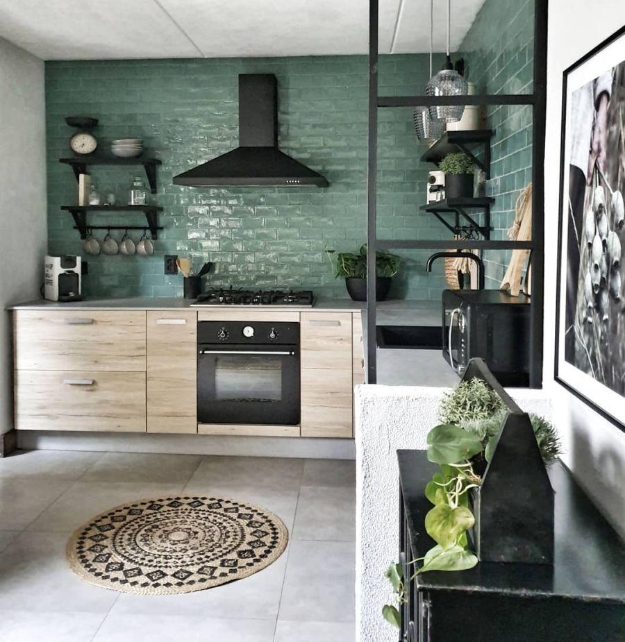 Aranżacja w indywidualnym stylu, wystrój wnętrz, wnętrza, urządzanie domu, dekoracje wnętrz, aranżacja wnętrz, inspiracje wnętrz,interior design , dom i wnętrze, aranżacja mieszkania, modne wnętrza, styl loftowy, loft, styl skandynawski, Scandinavian style, styl industrialny, industrial style, vintage, jadalnia, dining room, kuchnia, kitchen, skandynawska kuchnia,