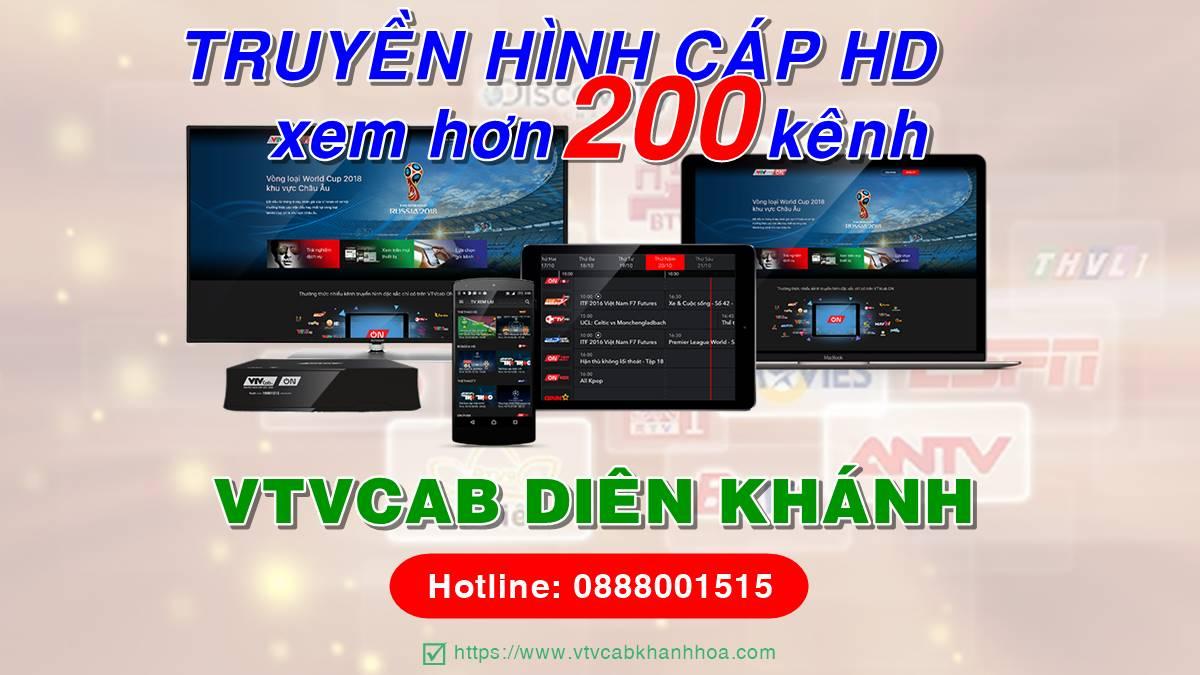 Đơn vị lắp đặt truyền hình cáp VTVcab tại Diên Khánh