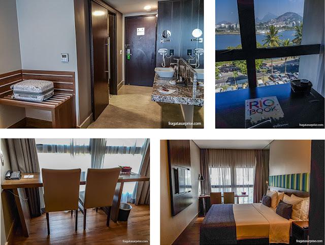 Apartamento do Hotel Prodigy Santos Dumont, Rio de Janeiro